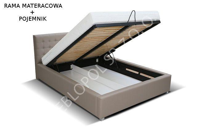 łóżko Tapicerowane Astro 140x200 Z Pojemnikiem